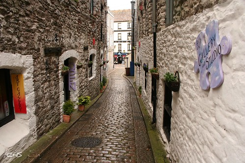 The Barbican, Plymouth by Stocker Images