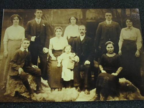 Original photograph c.1915-1925 of participant's family in Canvey Island
