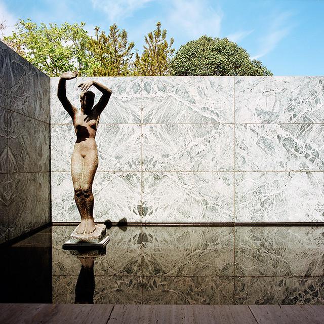 Fundação Mies van der Rohe, Barcelona, Espanha