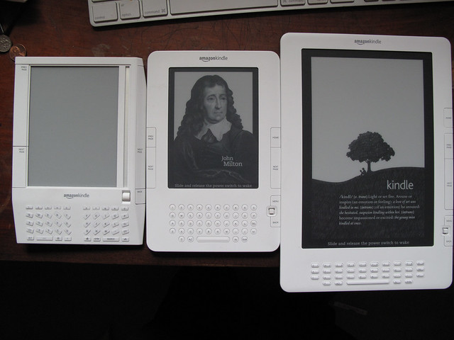 3 Kindles walk into a bar...