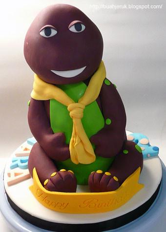 3d Barney cake