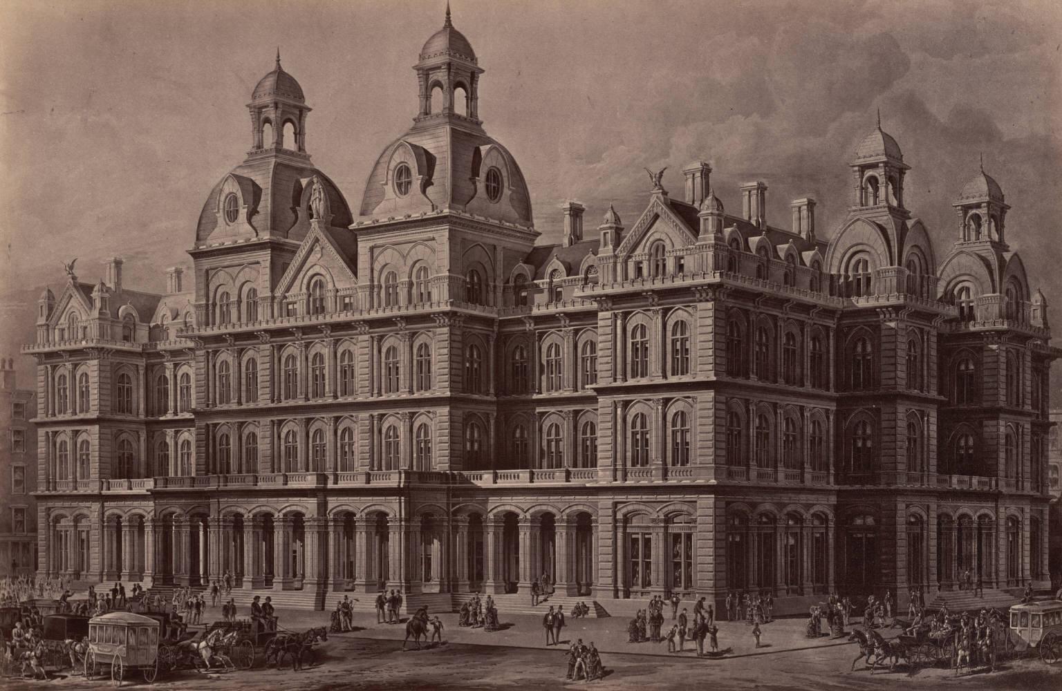 U. S. Custom House, Court House and Post Office