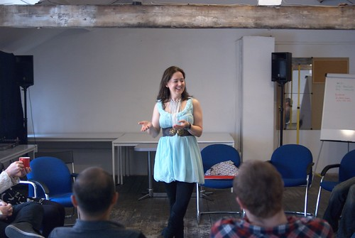 Geeks talk sexy flirting workshop