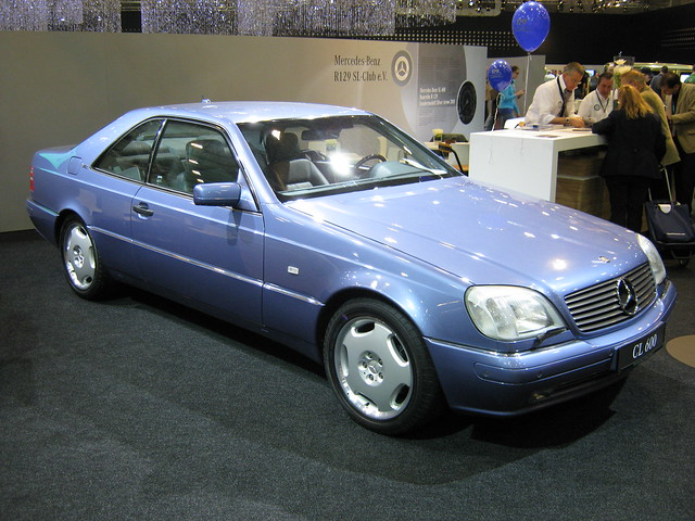 Mercedes benz c140 cl 600 1 flickr photo sharing for Mercedes benz cl 240