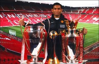United Triple Champions 2008 Trophies