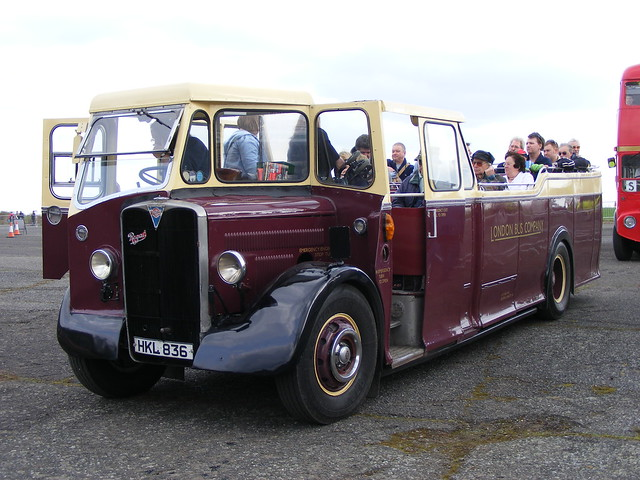 AEC Regal I/Beadle HKL836  Wisley Airfield
