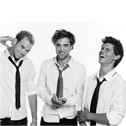 Kellan Lutz  Robert Pattinson on Kellan Lutz  Robert Pattinson    Taylor Lautner   Flickr   Photo