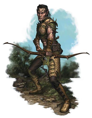 photoElven Ranger Portrait