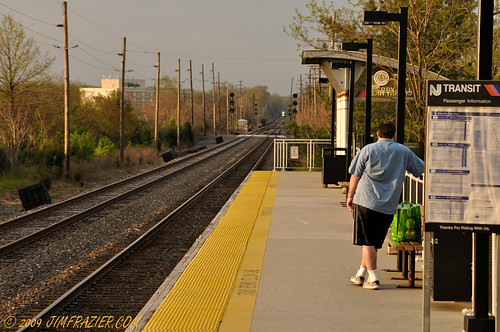city trip railroad morning travel light vacation people urban man men electric train sunrise landscape dawn vanishingpoint newjersey scenery waiting commerce mechanical diesel watch watching platform scenic nj beautifullight railway trains passengers equipment business machinery railwaystation commercial trainstation engines transportation infrastructure april depot commuter commuting locomotive passenger machines traveling shipping 2009 q3 apparatus locomotives njtransit devices cherryhill railroadstation newjerseytransit interestinglight dieselelectric ld2009 2009042527philweekend ldmay 090425c 20090425njtransit 20090425nytrip