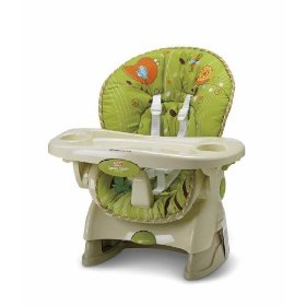 Pin silla comedor para bebe de fisher price verde on pinterest for Comedor para bebe