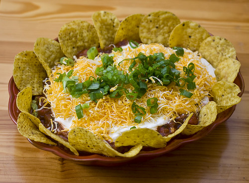 Seven Layer Mexican Nacho Dip