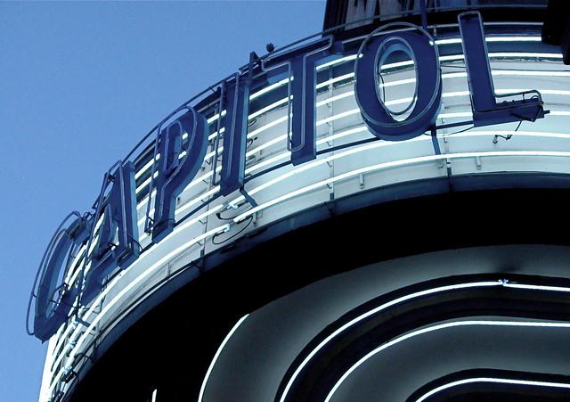 Marquesina del Cine Capitol/Capitol´s Theatre Marquee