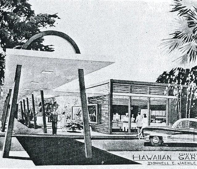 Mid Century Restaurant Design