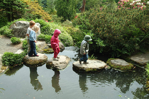 Kids at Kubota Garden, 2003