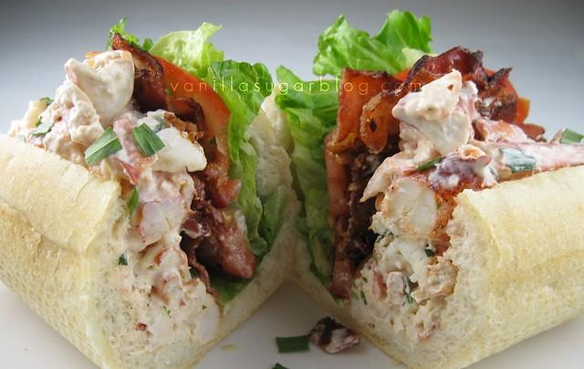 lobster-tarragon BLT