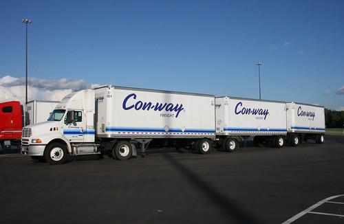 Conway Freight Trucks Ukrana Deren