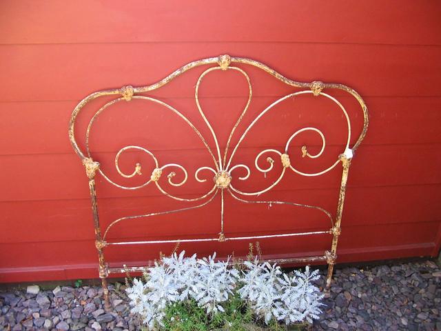 Fancy Metal Headboard Garden Decoration Flickr Photo