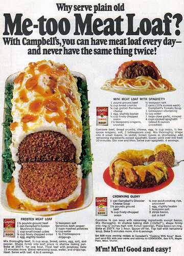 Vintage Ad #795: Me-too Meat Loaf and Other Experiments from Campbell's by jbcurio