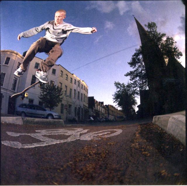 Alex Maw - BS Flip (Polaroid)