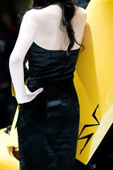 2009 Shanghai Auto Show * Elegant Murcielago LP670-4 SV Girl