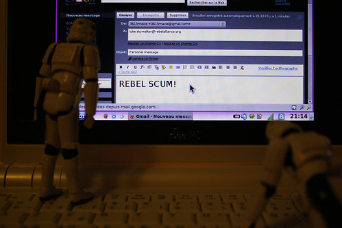 Gmailing Luke Skywalker