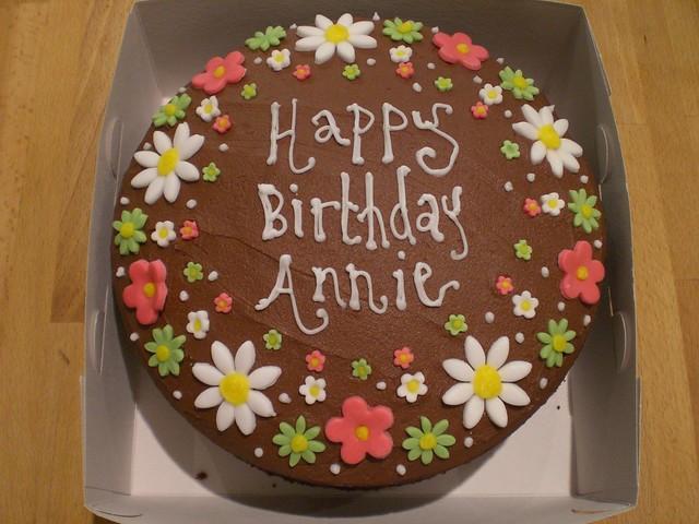 Cake Birthday Annie