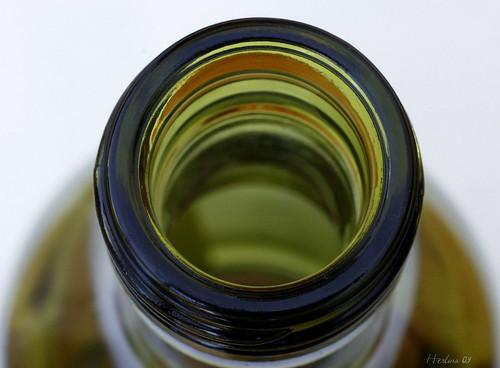 Green Empty bottle