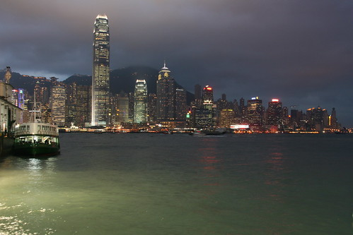 Star Ferry & Hong Kong skyline