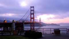 Golden Gate Bridge in SFO, California