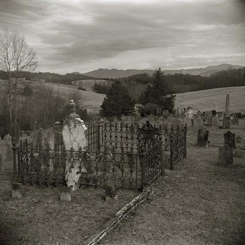 bw cemetery graveyard rural landscape virginia rockbridge buffaloforge