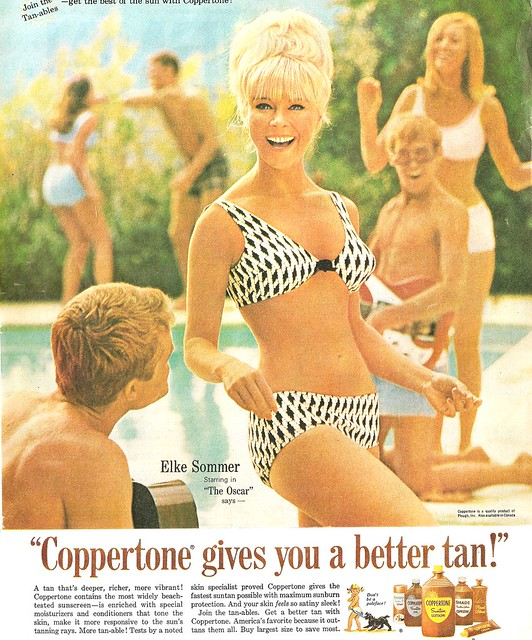 Coppertone Elke Sommer Flickr Photo Sharing