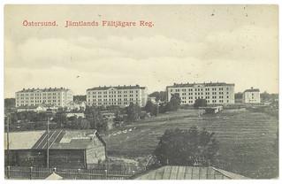 Östersund. Jämtlands Fältjägare Reg. (ca. 1911)