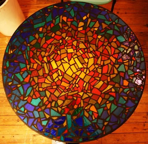 Nice Mosaic Table Top