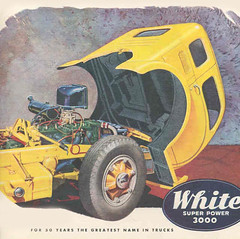 White Trucks - Advertisements and Ad Illustrations