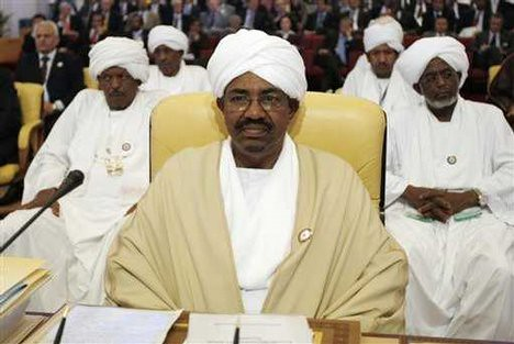 Sudanese President Omar Hassan al-Bashir attends the opening session of the Arab Summit in Doha, Qatar, Sunday, March 29, 2009. The president was issued an arrest warrant by the ICC. The action has been rejected by the AU and the Arab League. by Pan-African News Wire File Photos