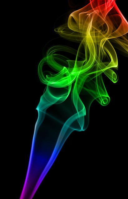 rainbow smoke wallpapers r - photo #10
