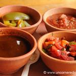 Guatemalan Food, Salsa - Guatemala City, Guatemala