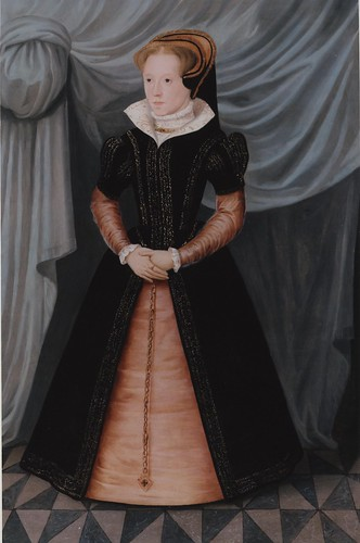 Portrait of Mary Tudor, Queen Mary I (1516 - 1558), circa 1550s