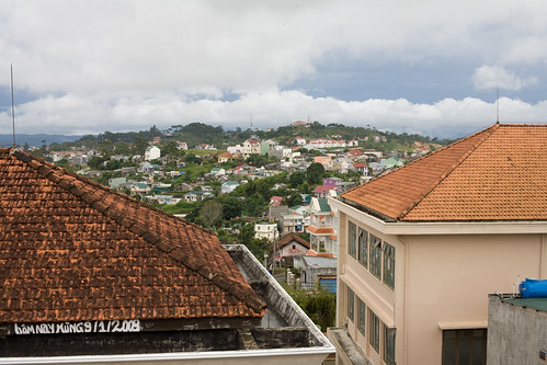 The View from the Dalat Crazy House