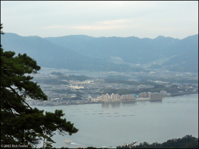 Miyajima-Guchi from the Ropeway