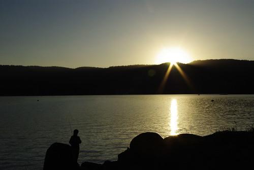 california boy summer sunrise dawn fishing pentax daybreak shaverlake ilovecalifornia k200d pentaxk200d pentaxda1855mmf3556alii