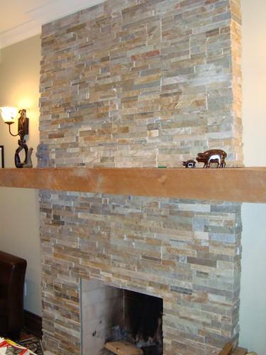 fireplace slate tile flickr photo sharing