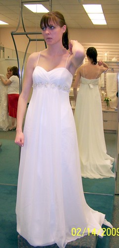 dress shopping
