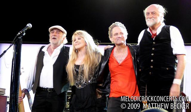 Fleetwood Mac on March 3, 2009 in St. Paul, MN