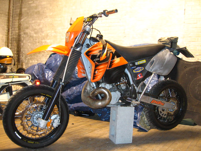 ktm 300 exc supermoto flickr photo sharing. Black Bedroom Furniture Sets. Home Design Ideas