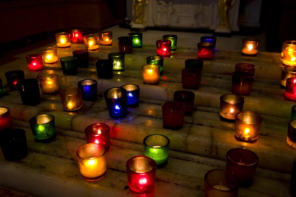 Prayer Candles | Prayer Candles St  Ignatius Church 650 Park