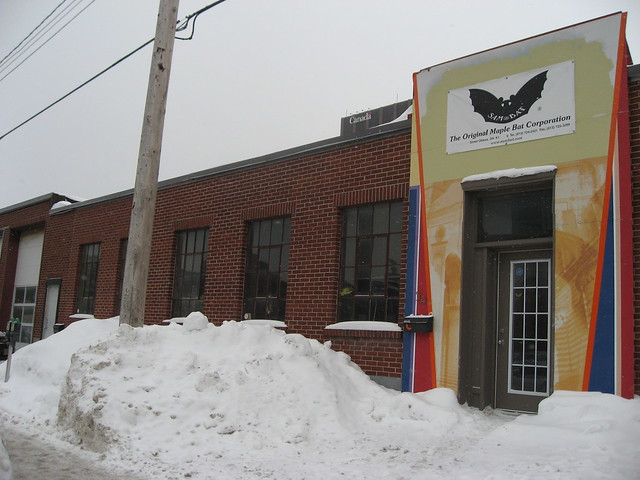 A photograph of Sam Bat company in Centretown West