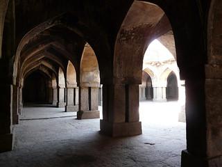 Image of Khirki Masjid. jahanpanah khirkivillage khirkimasjid