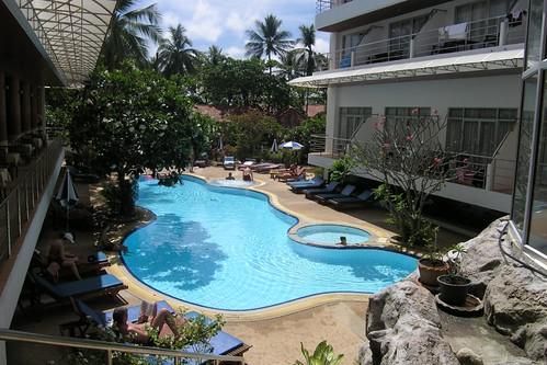 Samui First House pool