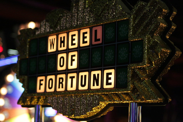 Wheel Of Fortune Dave And Busters Flickr Photo Sharing
